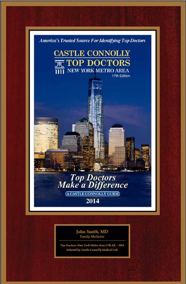 Castle Connolly Top Doctors 2014